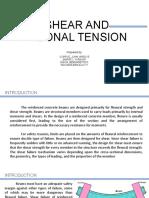 Shear and Diagonal Tension