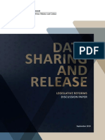 Data Sharing and Release Legislative Reforms Discussion Paper - Accessibility
