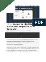 Manual de Identidade Visual Para Empresas (Guia Completo)