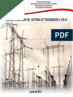 Caracterización Sistema a 765 Kv 23.08.2013