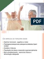 Exercícios para idosos
