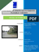 Informe Tecnico Diseño de Pavimento Flexible y Rigido PARCELACIÓN EL ENSUEÑO V1