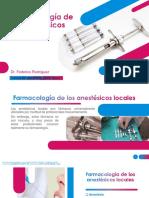 Farmacologia de Los Anestesicos Locales