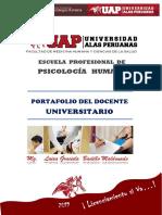 UAP Portafolio Académico 2019 - 2 Psicología Humana FINAL