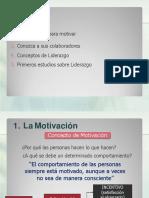 2.0 Motivacion y Liderazgo