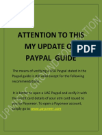 ATTENTION TO THIS MY UPDATE ON PAYPAL  GUIDE.docx