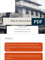 Ethical Clinical Research