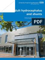 Adult Hydrocephalus and Shunts Patient Information