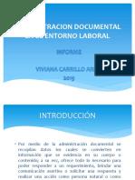 Administracion Documental en El Entorno Laboral