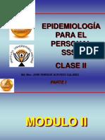 Epidemiologia Para El Personal Ssst II