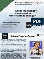11. Jelena Fedurko-Cohen 42 TOCPA SA 13-16 May 2019