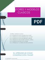 2.- Autores y Modelos Clasicos