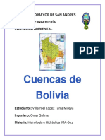 Cuencas de Bolivia