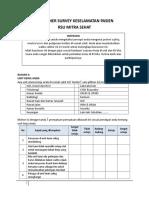 Kuesioner Survey Budaya Patient Safety