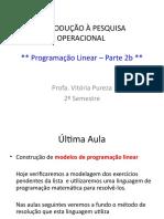 IPO - Aula 3 - resolucao das listas e exercicios com  LINDO.ppt