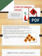 Señalización en Obras Viales Ppts