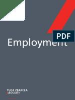 Tuca Zbarcea Asociatii Employment 2008