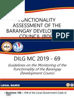 BDC Orientation