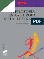 La Filosofía en La Europa de La Ilustración (Thémata) - Cirilo Flórez Miguel