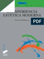 La Experiencia Estética Moderna (Thémata) - José Luis Molinuevo