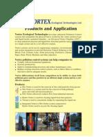 Vortex Applications - Vortex Ecological Technologies