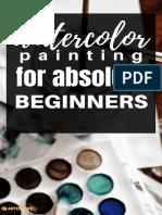 Watercolor Guide Fin Al Logo