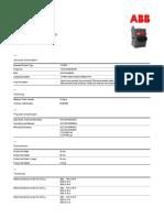 1SCA104902R1001 Ot40f3 Switch Disconnector