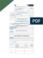Formato de formulario