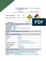 01la040030 - Nitrato de Sodio
