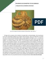 ORIGEN Y DISCONTINUIDAD DE LOS CONCEPTOS Y DE LOS SIMBOLOS