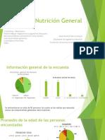 Presentación de Nutrición