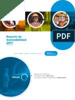 Reporte Sostenibilidad 2017 Cosapi