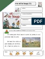 Pierre Et Le Loup Fiches Lecture