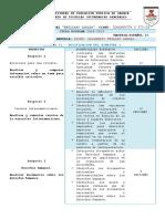 Dosificacion Español II 2017-2018