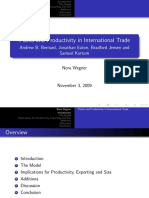 Plants and Productivity in International Trade