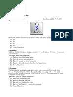 Standards 1 2 3 Answer Key