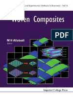 [Computational and Experimental Methods in Structures 6] Aliabadi, Mohammad H - Woven Composites (2015, Imperial College Press)