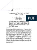 Comparative Study of MOSFET, CMOS AndFINFET_ a Review