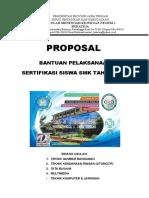 Proposal Sertifikasi 2019 Smk