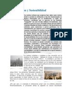 Urbanización y sostenibilidad