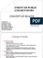 Concept of Health-Pushkar