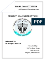 The Informal constitution.docx