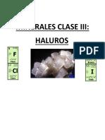 Mineralogia de los haluros