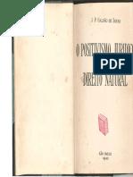 Galvão de Sousa - Direito Natural e Positivismo Jurídico [Complementar]