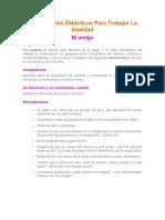 3 Situaciones Didácticas Para Trabajar La Amistad.docx