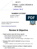Lecture 02 Av-211 - Number Systems