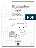 Year 5 Multiplication and Division Booklet