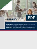 LECTURA 3-M2 El Procesador de Palabras (Word)