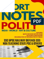 Shorts notes of Indian politics by other authors