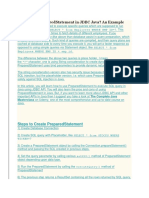 How to use PreparedStatement in JDBC Java.docx